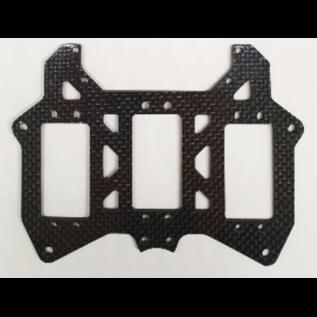 Mecatech Racing Single servo radioplate for short chassis
