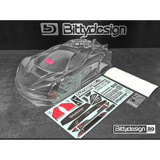 Bittydesign Seven65 Karosserieset 1/8GT kurzer Radstand 325mm