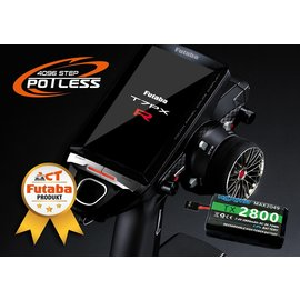 Futaba T7PXR Potless V3 -  2,4 GHz 7-kanaals afstandsbediening