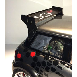 SCS M2 Rearwing set aluminum for Mini Cooper