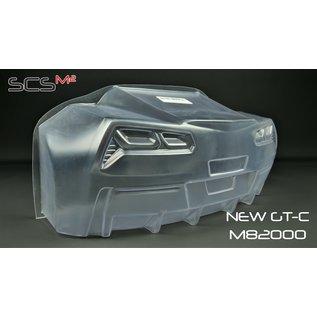 SCS M2 GT-C Karosse 1,5mm (535mm), glasklar
