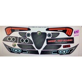 Model Car Studio Alfa 156 stickerset (compleet)