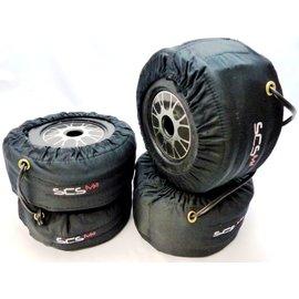 SCS M2 Reifenheizdecken Formel set (vorne + hinten)