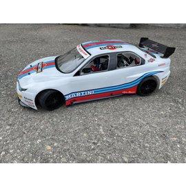 Model Car Studio Alfa 156 bodyshell tbv 500 / 510 mm (kort chassis)