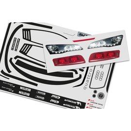 FG modellsport Stickerset tbv Audi R8 LMS