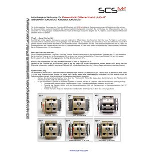 SCS M2 Powerlock 2  (Light) Differenzial