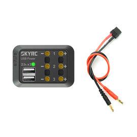 SkyRC Stroomverdeler tbv bandenwarmers