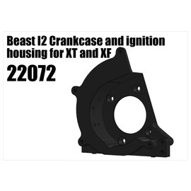 RS5 Modelsport Beast I2 crankcase and ignition housing for XT and XF