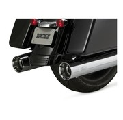 Vance & Hines Chrome 450slip-ons surdimensionnées ou Noir - Convient à:> 2017 Touring