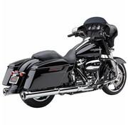 Cobra NH Series slip-ons Chrome ou Noir - Fits:> 2017 Touring