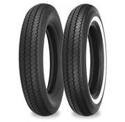 Shinko motorband MT 90 H 16 inch E240 74H binnenband zwart of met enkele witte streep