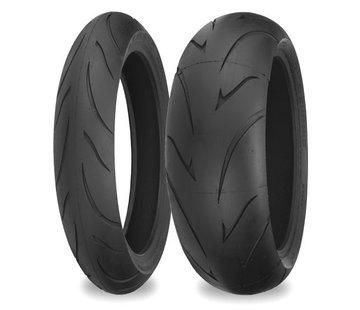 Shinko motorcycle tire 200/50 ZR 17 inch R011 75W TL JLSB - R011 Verge radial rear tires