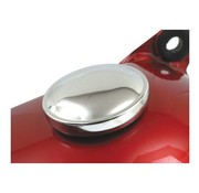 gas tank gas cap  set - Chrome