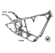 Kraft / Tech Inc frame  Softail style dual straight down tube frames