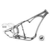 Kraft / Tech Inc frame Softail-stijl enkel gebogen onderbuisframes - voor Evolution-motoren