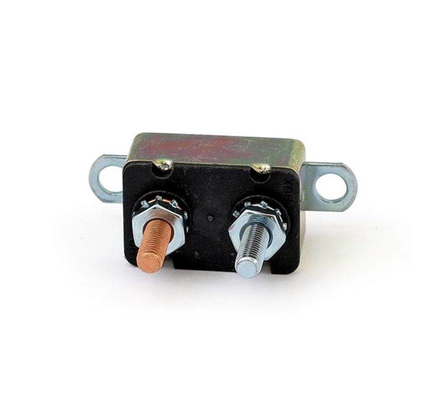 Automatische reset zekering stroomonderbreker - lip met dubbele montage