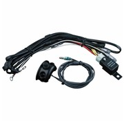 Kuryakyn cable Driving light wiring/relay kit control mounted Fits> 96-16 H-D (exclude. 15-16 FLTRSX/S FLTRU FLHX/S)