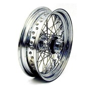 BK wheel front 40 Spoke 3.00 X 16 Dual flange - Fits> 73-83 FL FX