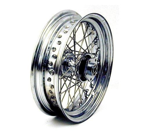 BK Harley Davidson 40 Speichen 3,00 X 16 Dual-Flansch-Rad - Passend für:> 73-83 FL, FX