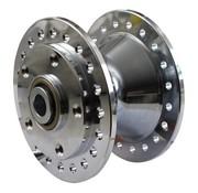 cubo de la rueda delantera cromada - Se adapta a:> 84-99 FX, XL, DYNA