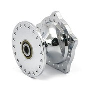 plaqué avant chromé de moyeu de roue aluminium - Fits:> 74-77 XL ironhead