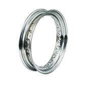 wheel Rim dropcentre - 3.00 x 16 Inch – chrome