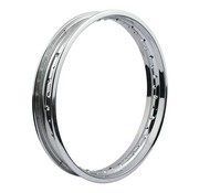 MCS wheel Rim 40 Spoke Custom Style - 1.85 X 21 Inch - Chrome