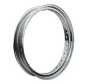 MCS wheel Rim 40 Spoke deep Dropcentre - 3.25 X 21 Inch - Chrome