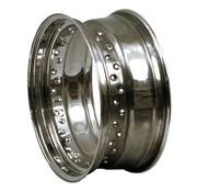 40 Spoke dropcentre rim - 4,5 X 16 pouces - Chrome
