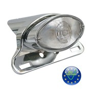 MCS cateye LED taillight - Fits: UNIVERSAL - lense clair