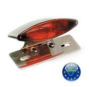 MCS Snakelight luz trasera - cromo
