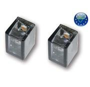 MCS turn signal LED Micro tube V-Led mini - pair