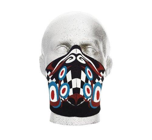 Bandero Harley Davidson Gesichtsmaske Pyschedelic