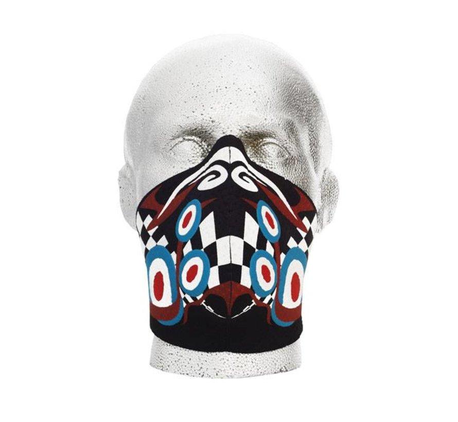 Harley Davidson Gesichtsmaske Pyschedelic