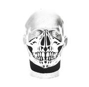 Bandero Cara máscara de calavera