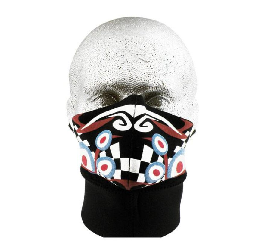 Harley Davidson Gesichtsmaske PSYCHEDELISCHES - LONGNECK
