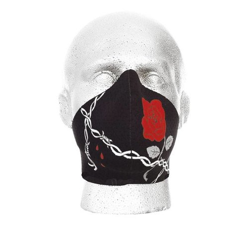Bandero Harley Davidson Gesichtsmaske WILDROSE - DAMEN