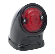 Biltwell achterlicht LED Mako zwart of gepolijst