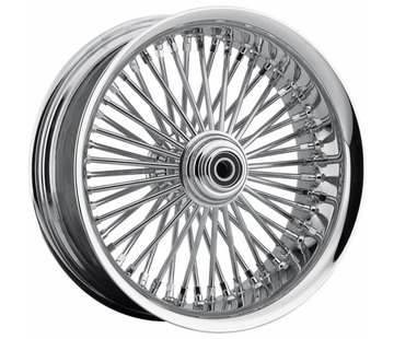 "TC-Choppers 50 Spoke softlip Front Wheel - 21 x 3.50"" for 08‐13 FLTR/​FLHT/​FLHR/​FLHX without ABS (single disc)"