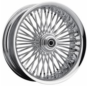 "50 Spoke softlip Front Wheel - 23 x 3.75"" for 08‐13 FLTR/​FLHT/​FLHR/​FLHX without ABS (single disc)"