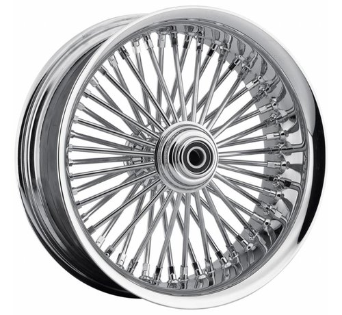 "TC-Choppers Harley Davidson 50 Spoke softlip Vorderrad - 23 x 3,75 ""für 08-13 FLTR / FLHT / FLHR / FLHX mit ABS (Single Disc)"