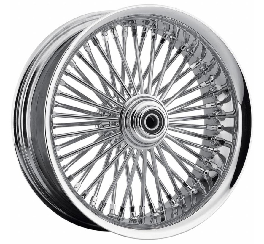 "Harley Davidson 50 Spoke softlip Vorderrad - 23 x 3,75 ""für 08-13 FLTR / FLHT / FLHR / FLHX mit ABS (Single Disc)"