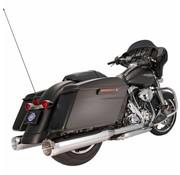 "S&S Power Tune MK45 Chrome Thruster End Cap 4.5 ""Slip-On Schalldämpfer Chrome Body Finish - Passend für:> 07-16 Touring Modelle"