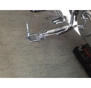 standaard kickstand mompelpen roestvrij staal