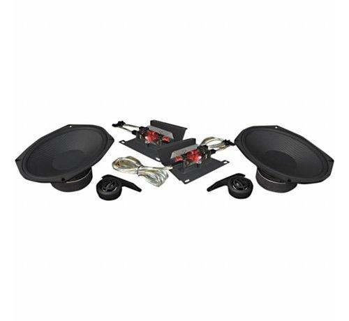 TC-Choppers audio-luidsprekerset 6X9 4O Ohm 250 Watt Geschikt voor:> 14-17 FLHT / FLHX / FLHR / FLTRX / FLTRU