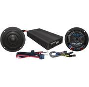 Altavoz / amplificador kit de 400 vatios, adapta a:> 14-17 modelos FLHX