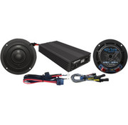 TC-Choppers audio Speaker/Amplifier kit 400 Watt Fits:> 14-17 FLHX