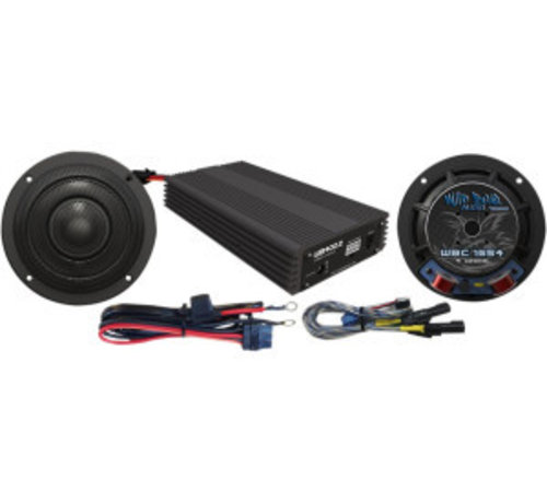 TC-Choppers audio Luidspreker / Versterker kit 400 Watt Past op:> 14-17 FLHX
