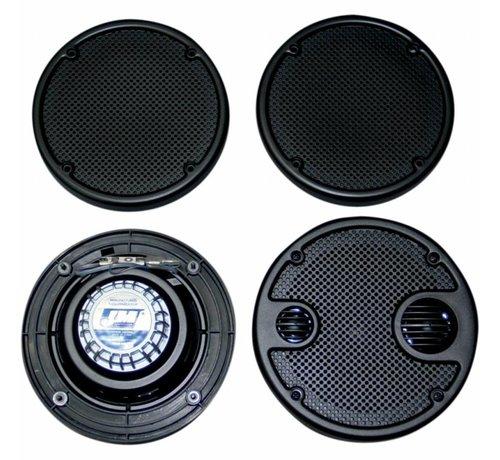 J&M Audio audio Rokker achterspeakersets Past op:> 06-13 FLHT
