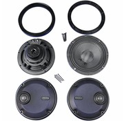 TC-Choppers audio Rokker Front Speakers kits Fits:> 14-17 FLHT
